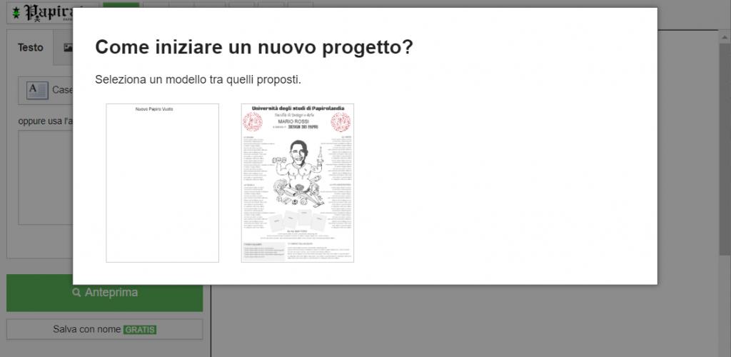 Papirata.com - Come inziare un nuovo progetto