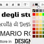 tavola colori facoltà papiro