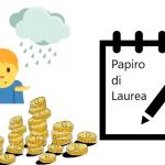 chi paga il papiro di laurea