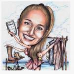 Caricature per papiri di laurea originali e personalizzate