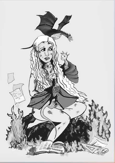 Caricature laurea di Barbara